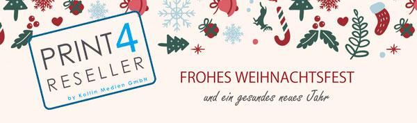 PRINT 4 RESELLER wünscht frohe Weihnachten